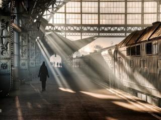 Собирать пазл Витебский вокзал онлайн