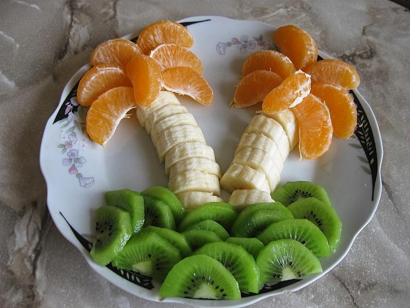 Пазл Собирать пазлы онлайн - Вкусные пальмы