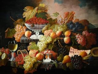 Собирать пазл Вкусный натюрморт онлайн
