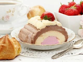 Собирать пазл Вкусный десерт онлайн
