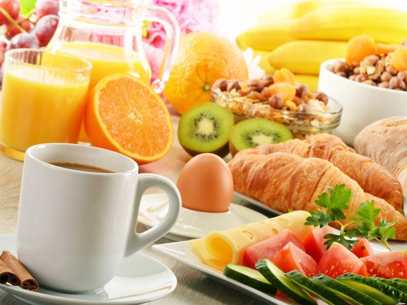 Пазл Собирать пазлы онлайн - Вкусный завтрак