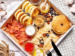Собирать пазл Вкусности на завтрак онлайн