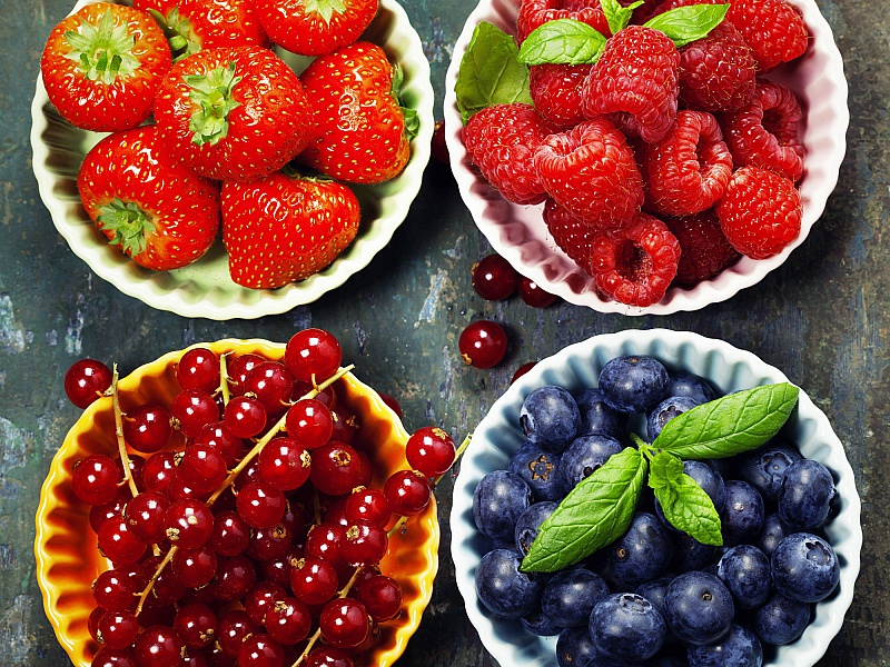Пазл Собирать пазлы онлайн - Спелые ягоды