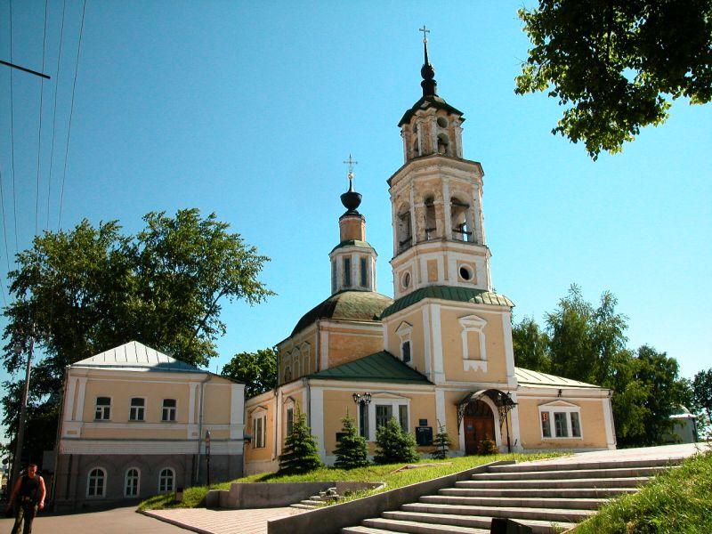 Пазл Собирать пазлы онлайн - Николо-Кремлевская церковь
