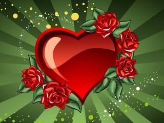 Собирать пазл Влюблённое сердце онлайн