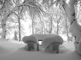 Собирать пазл Во власти снега онлайн