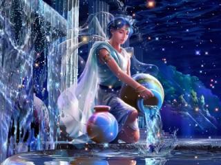 Собирать пазл Водолей онлайн