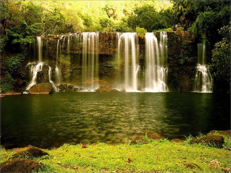 Пазл Собирать пазлы онлайн - Водопад2