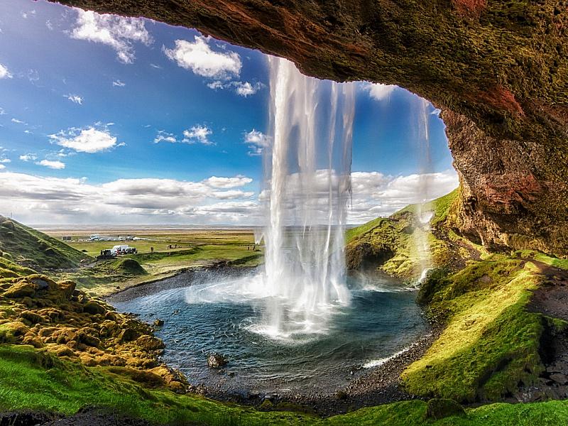 Пазл Собирать пазлы онлайн - Водопад