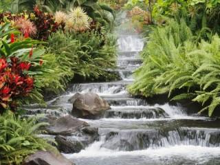 Собирать пазл Водопадик онлайн