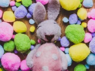 Собирать пазл Войлочный кролик онлайн