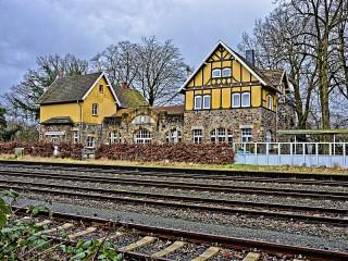 Собирать пазл Вокзал в Эверсбурге онлайн