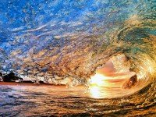 Собирать пазл Волна онлайн