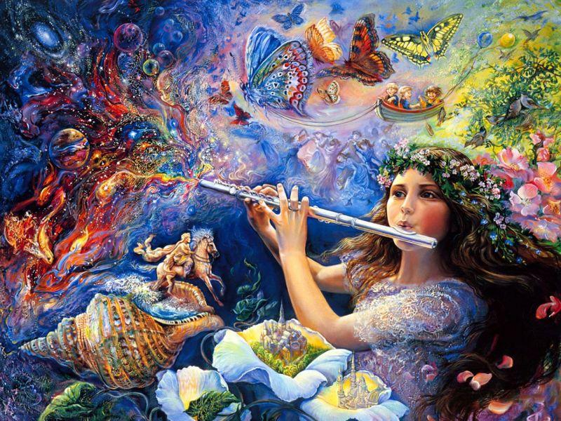 Пазл Собирать пазлы онлайн - Волшебная флейта