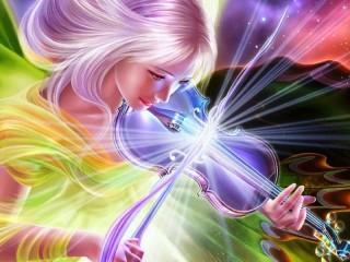 Собирать пазл Волшебная скрипка онлайн