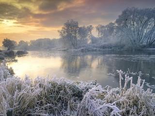 Собирать пазл Волшебная зима онлайн