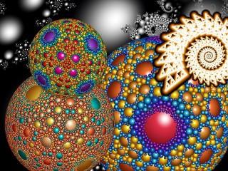 Собирать пазл Волшебные шары онлайн