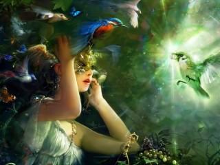 Собирать пазл Волшебный мир онлайн