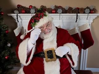 Собирать пазл Вопрос Санта Клауса онлайн