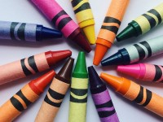 Собирать пазл Восковые карандаши онлайн