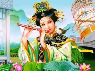 Собирать пазл Восточная красавица онлайн