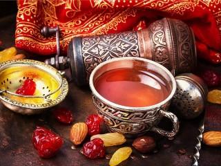 Собирать пазл Восточное чаепитие онлайн