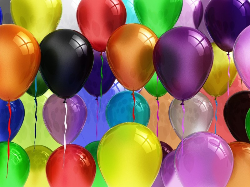 Пазл Собирать пазлы онлайн - Воздушные шары