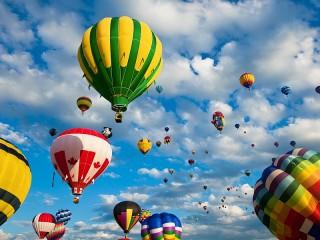 Собирать пазл Воздушный праздник онлайн
