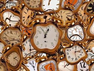 Собирать пазл Время утекает онлайн
