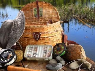 Собирать пазл Все для рыбалки онлайн