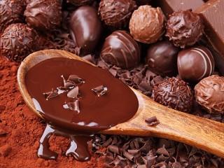 Собирать пазл Все в шоколаде онлайн
