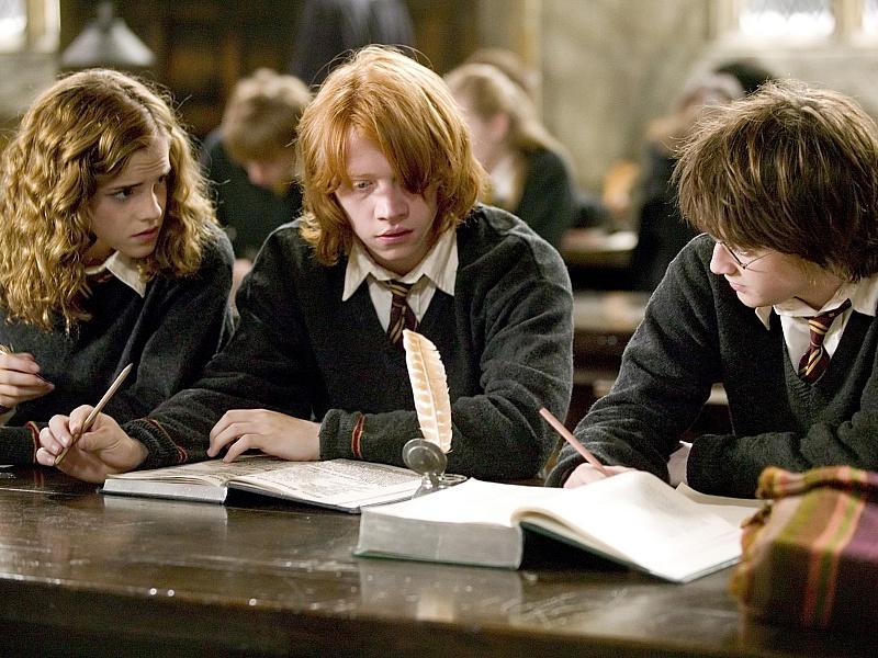 Пазл Собирать пазлы онлайн - Кадр из к.ф о Гарри Поттере