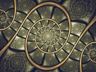 Собирать пазл Встреча спиралей онлайн