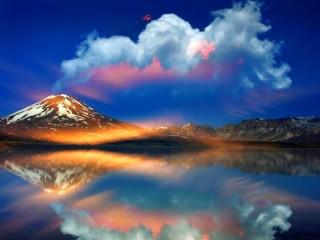 Собирать пазл Вулкан в Чили онлайн