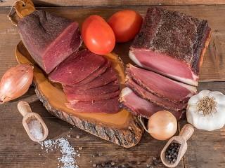 Собирать пазл Вяленое мясо онлайн