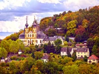 Собирать пазл Вюрцбург Германия онлайн