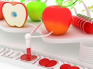 Собирать пазл Яблочные леденцы онлайн