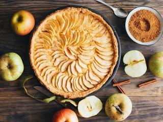 Собирать пазл Яблочный пирог онлайн