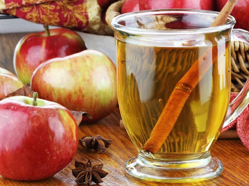 Пазл Собирать пазлы онлайн - Яблочный напиток