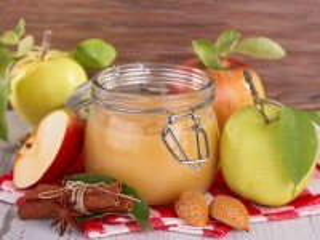 Собирать пазл Яблочное пюре онлайн
