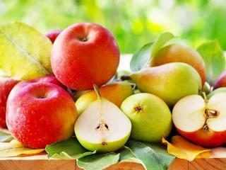 Собирать пазл Яблоки и груши онлайн