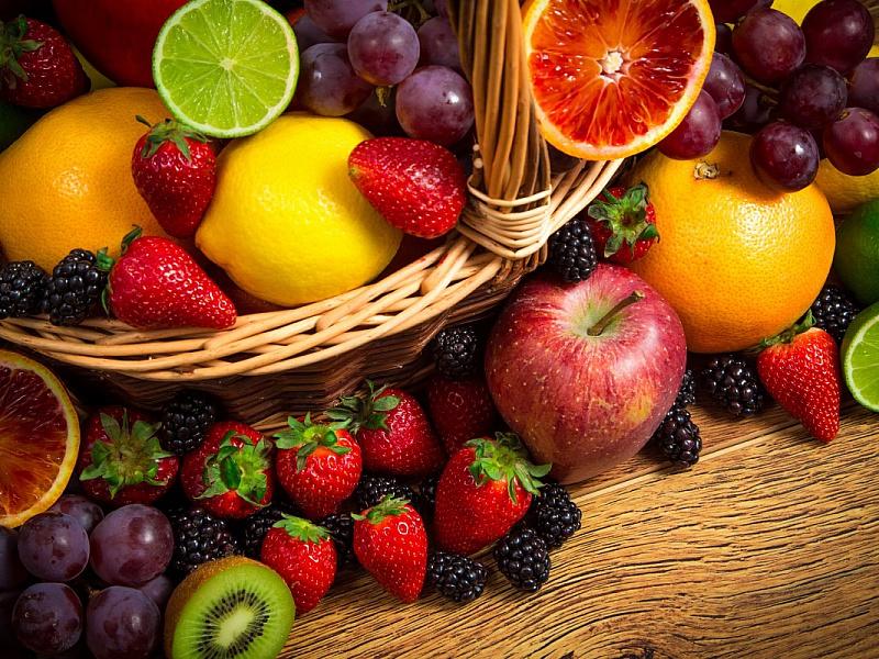 Пазл Собирать пазлы онлайн - Ягоды и фрукты