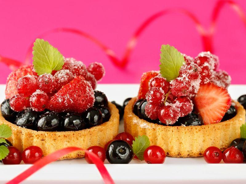 Пазл Собирать пазлы онлайн - Ягодный десерт