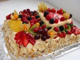 Собирать пазл Ягодный тортик онлайн
