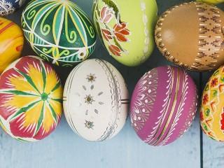 Собирать пазл Яйца на Пасху онлайн