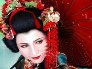 Собирать пазл Японская девушка онлайн