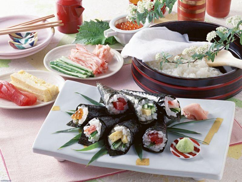 Пазл Собирать пазлы онлайн - Японская еда