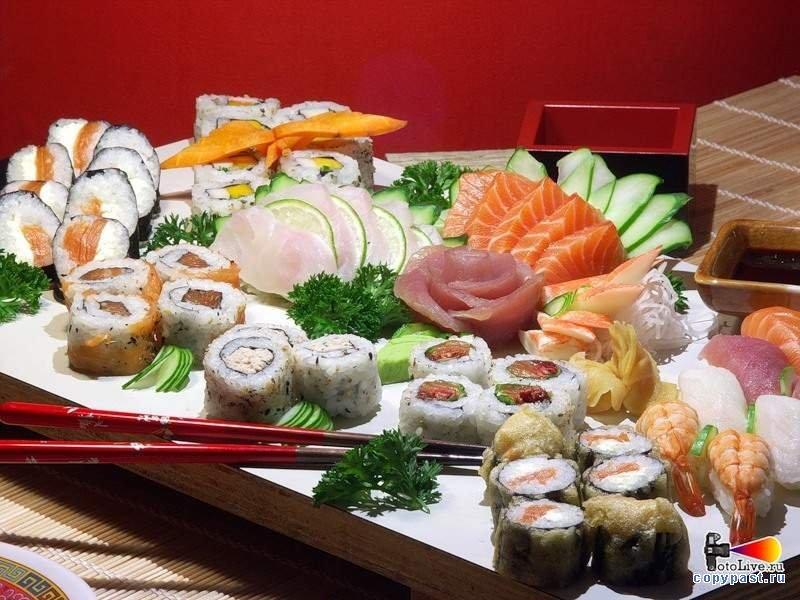 Пазл Собирать пазлы онлайн - Японские деликатесы