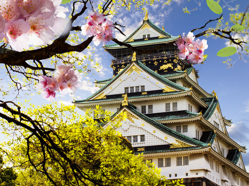 Пазл Собирать пазлы онлайн - Японский дом