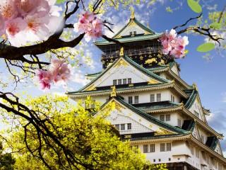 Собирать пазл Японский дом  онлайн